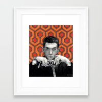 kubrick Framed Art Prints featuring Kubrick by Bethany Duvall