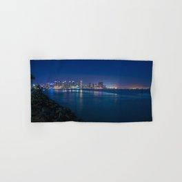 San Diego Waterfront and Coronado Bridge Hand & Bath Towel