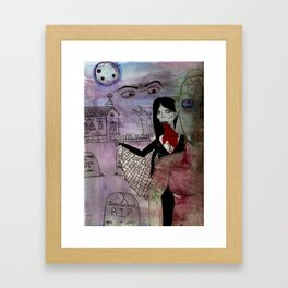 Creature of the  Night. Framed Art Print