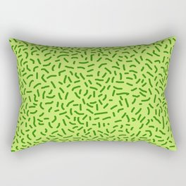 Green Grass Rectangular Pillow