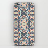 southwest iPhone & iPod Skins featuring Southwest Tribal by Beth Thompson