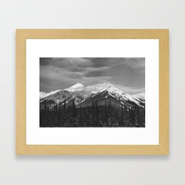35mm Alberta Mountains Framed Art Print