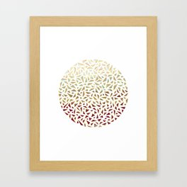Bits & Pieces. Framed Art Print