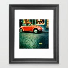Punch Buggy Framed Art Print