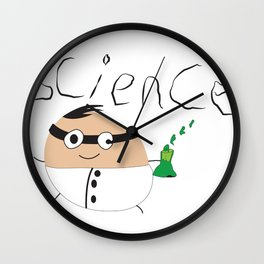 Steve's Lab Wall Clock