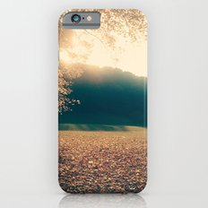 autumn comes and leafs iPhone 6 Slim Case