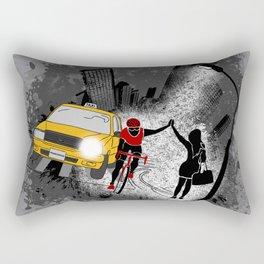 Hailing A High Five Rectangular Pillow