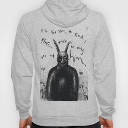 """Donnie Darko Frank The Rabbit """"Only You and Him"""" Hoody"""