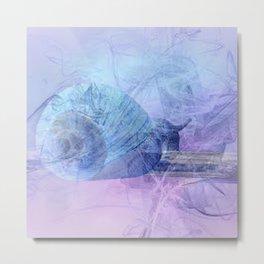 Snail house Metal Print