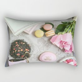 Flat lay Rectangular Pillow