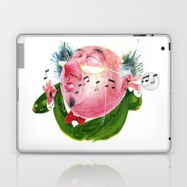 The Music Critic Laptop & iPad Skin