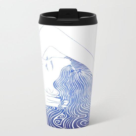 Water Nymph LXXIX Metal Travel Mug