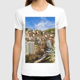Riomaggiore, Cinque Terre, Italy T-shirt