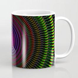 Optical illusion circles Coffee Mug