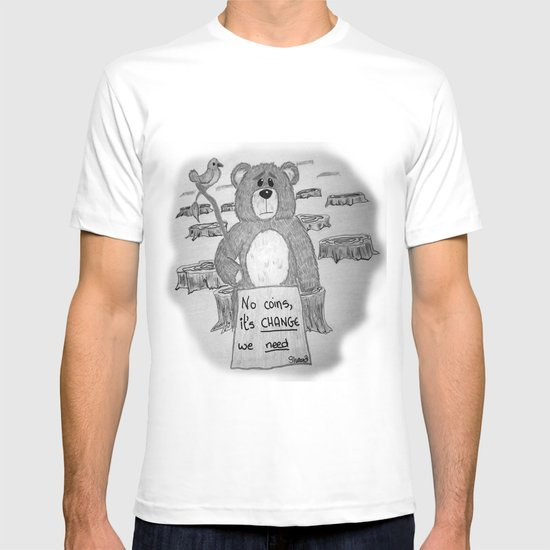 Sad bear 2 T-shirt