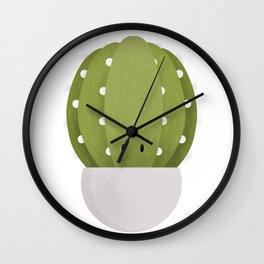 Cactus Nursery Art Wall Clock