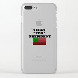 Presidency Clear iPhone Case