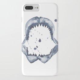 Indigo Shark Jaw iPhone Case