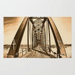Terry Bridge Vintage Rug