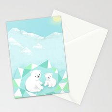 Arctic Den Stationery Cards