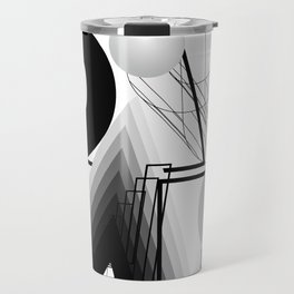 History of Art in Black and White. Bauhaus Travel Mug