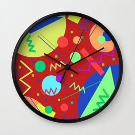 Memphis #52 Wall Clock