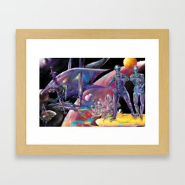Final Harvest Framed Art Print