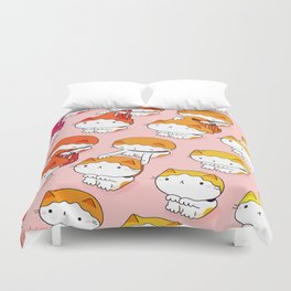 Cats Need Haircuts too! Duvet Cover