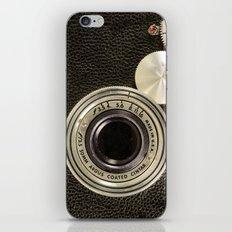 Vintage Argus camera iPhone & iPod Skin