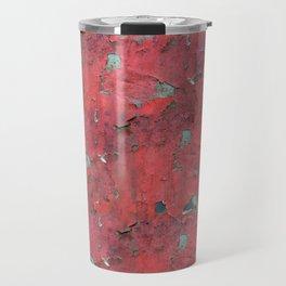Rust, retro metal texture Travel Mug