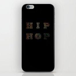 HIP HOP iPhone Skin