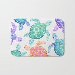 Sea Turtle - Colour Badematte
