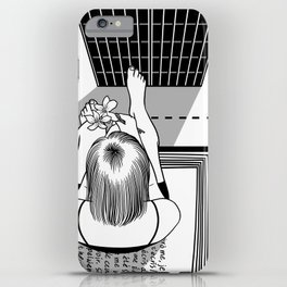 The End of the Story iPhone Case