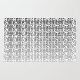 BQ Fade 2 - white Rug