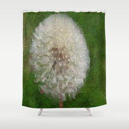 Dandelion Ballerina Shower Curtain