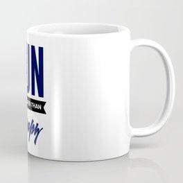 Run It's Cheaper Than Therapy Coffee Mug
