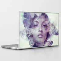 doll Laptop & iPad Skins featuring Adorn by Anna Dittmann