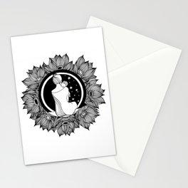 "Inktober, Day 2 ""Tranquil"" #inktober #inktober2018 Stationery Cards"