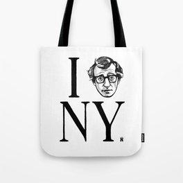 I (Woody) NY Tote Bag