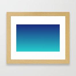 Aqua Marine Framed Art Print