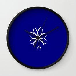 snowflake 4 Wall Clock