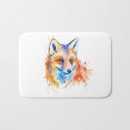 Cute Fox Head Bath Mat