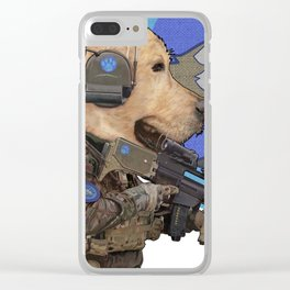Jackal_special forces Clear iPhone Case