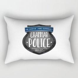 Grammar Police Rectangular Pillow