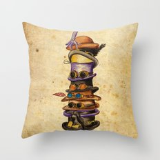 Hat Stack Throw Pillow