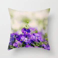 Mystical Meadow Throw Pillow