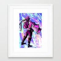 jojo Framed Art Prints featuring JoJo by zeekayart