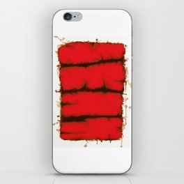 Red element iPhone Skin