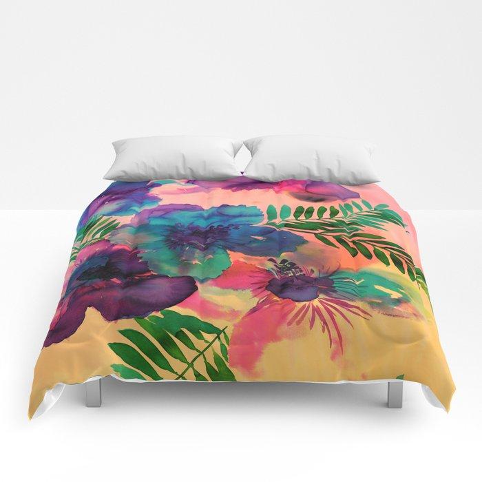 Skye Floral Comforters