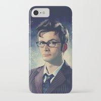 david tennant iPhone & iPod Cases featuring David Tennant - Doctor Who 2 by KanaHyde